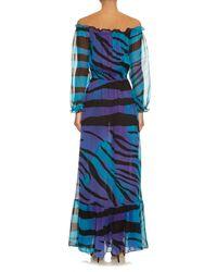 Diane von Furstenberg | Multicolor Camila Printed Maxi Dress | Lyst