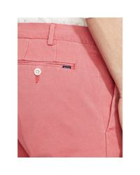 Polo Ralph Lauren - Pink Slim-fit Stretch Chino for Men - Lyst