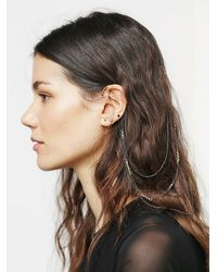 Free People - Multicolor Triple Bobby Pin Ear Cuff - Lyst