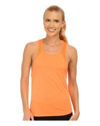 Nike - Orange Dri-fit™ Crew Tank Top - Lyst