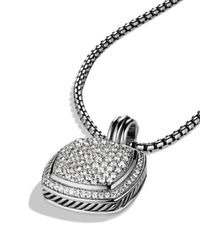 David Yurman - Metallic Albion Pendant With Diamonds - Lyst