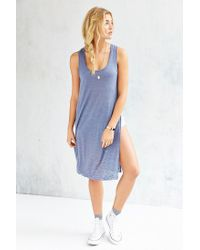 Project Social T | Blue Into The Desert Tunic Top | Lyst