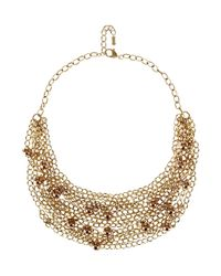 Hobbs | Metallic Amelie Necklace | Lyst