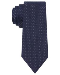 Kenneth Cole Reaction | Blue Dressy Dot Slim Tie for Men | Lyst