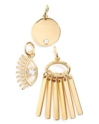 BaubleBar | Metallic 'lashed Out Weekend' Charms | Lyst