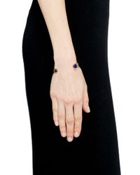Ela Stone | Blue 'liadana' Lapis Stone Cuff | Lyst