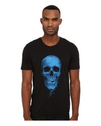 The Kooples | Blue Tencel Cotton Jersey T-shirt for Men | Lyst