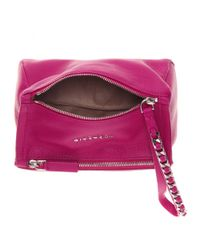 Givenchy | Purple Pandora Leather Pouch | Lyst