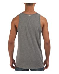 Bench | Gray Pitach Plain Scoop Regular Fit Vest for Men | Lyst