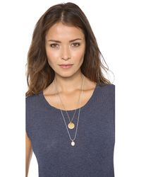 Marc By Marc Jacobs | Metallic Starlight Lounge Necklace Antique Gold | Lyst