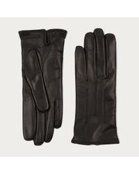 Bally Black Leather Gloves for men
