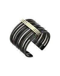 Vince Camuto | Metallic Resin Cuff Bracelet | Lyst