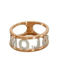 Spallanzani - Metallic Mojo Ring - Lyst