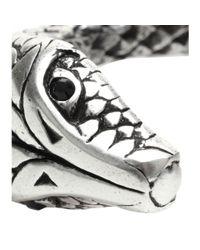 Saint Laurent | Metallic Serpent Cuff | Lyst