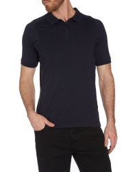 Calvin Klein | Blue Taion Short Sleeve Polo Shirt for Men | Lyst