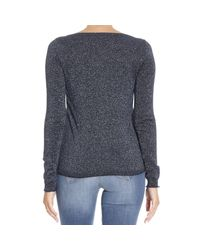 Patrizia Pepe - Blue Sweater - Lyst