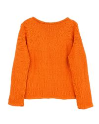 Wool And The Gang | Orange Julia Sweater | Lyst