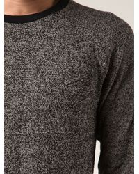 Robert Geller Black 'Static' Sweater for men