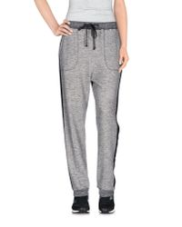 Twin Set | Gray Casual Pants | Lyst