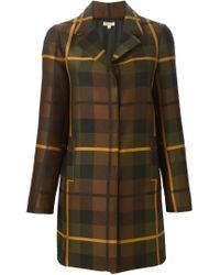 P.A.R.O.S.H. - Multicolor Checked Coat - Lyst