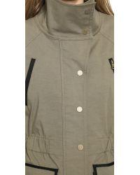 Veronica Beard Green Military Jacket Olive