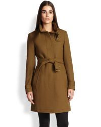 Burberry Brit - Brown Rushworth Belted Coat - Lyst