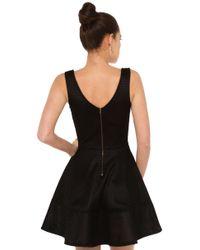 AKIRA - Caught Up Net Black Skater Dress - Lyst