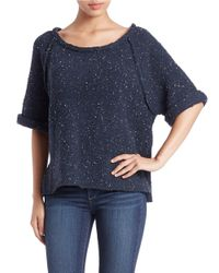Free People | Blue Lounge All Day Cardi | Lyst