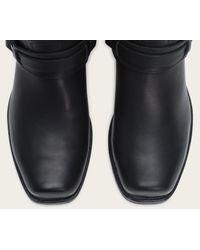 Frye | Black Harness 12r Belted Wide for Men | Lyst
