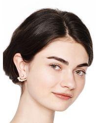 kate spade new york Metallic Dainty Sparklers Ear Jacket