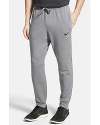 Nike | Gray Dri-fit Touch Fleece Sweatpants for Men | Lyst