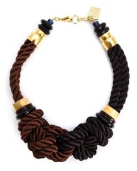 Lizzie Fortunato | Brown 'spirits For Sale' Necklace | Lyst