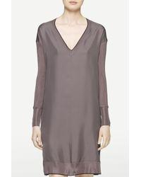Rag & Bone - Purple Maude Long Sleeve Dress - Lyst