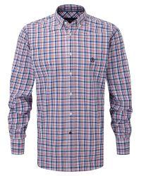 Henri Lloyd Red Classic Shirt for men