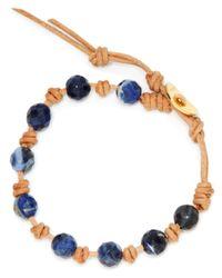 Chan Luu | Blue Single Beaded Wrap Bracelet | Lyst