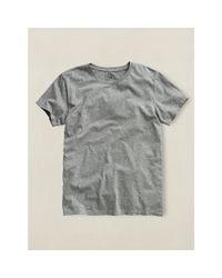 RRL - Gray Crewneck T-shirt for Men - Lyst