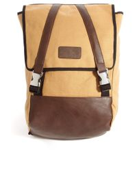 ASOS | Brown Tech Backpack for Men | Lyst