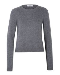 Dorothee Schumacher | Gray Ecstatic Ease Pullover O-neck 1/1 | Lyst