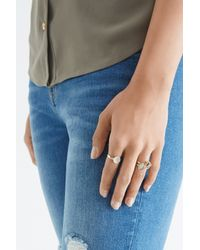 Oasis - Green Ethnic Ring Pack - Lyst