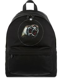 Givenchy   Black Twin Monkey Backpack for Men   Lyst