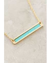 Samantha Wills - Blue Sea Bar Necklace - Lyst
