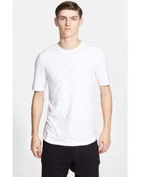 Helmut Lang | White 'core' Jersey T-shirt for Men | Lyst