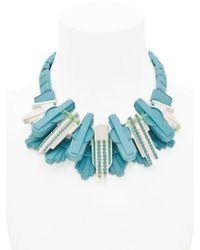 EK Thongprasert | Blue Art De Co' Necklace | Lyst