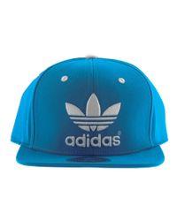 Adidas - Blue Originals Ac Trefoil Cap Sol for Men - Lyst