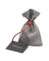 Miansai | Gray Grey Rope Silver Anchor Bracelet for Men | Lyst