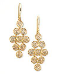Ippolita | Metallic Stardust Flower Cascade Diamond Earrings | Lyst