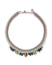 Venessa Arizaga | Multicolor 'treasure Chest' Necklace | Lyst