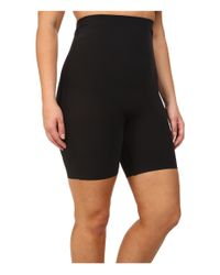 Yummie By Heather Thomson | Black Plus Size Florence High Waist Shorts | Lyst