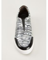 3.1 Phillip Lim - Black Slip On Sneakers - Lyst
