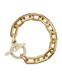 Michael Kors | Metallic Cityscape Link Toggle Bracelet | Lyst